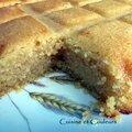 Khbizet ' s-smid pour malika ( gâteau de semoule au lait concentré )