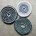 Frisbees spirale