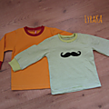 Tee-shirts moustachus