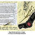 Page d'herbier de poche n°4 simple