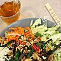 Recette de bô bun vietnamien au poulet { bun gà nuong sa} & workshop à l'appart créatif