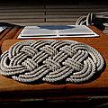 Décoration sur un Roof du Voilier Trois-Mâts-Barque Bélem