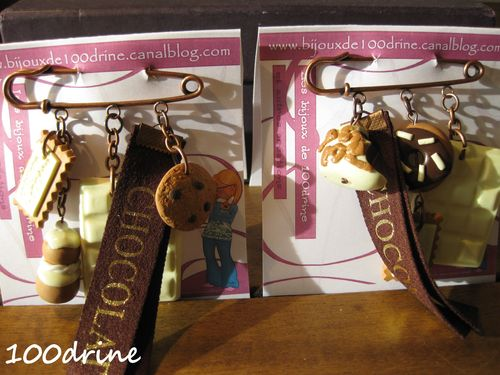 Broches gourmandes