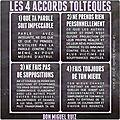 Les quatre accords Toltèques....