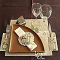 Ma table de noel..... version 2 !