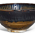 A 'Cizhou' russet streaked bowl, Song dynasty (960-1279)