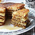 Pancakes fluffy au buttermilk, ou comment donner de mauvaises habitudes à un enfant