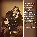 Pensée, Oscar Wilde
