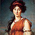 6ème partie de la coiffure féminine à travers les âges - directoire - premier empire