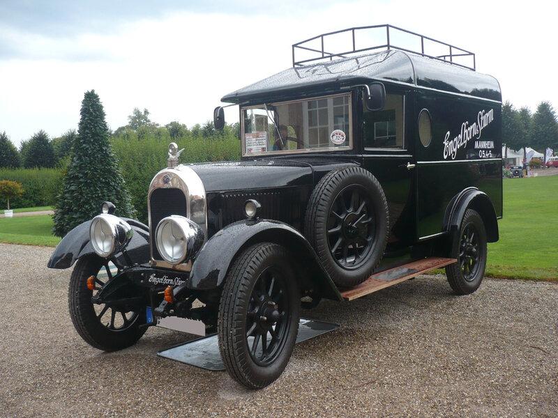 MORRIS Bullnose Light Van 1926 Schwetzingen (1)