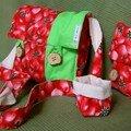 et un sac fraise ...un ! avec sa tite pochette...