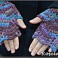 Roselaine746 mitaines crochet