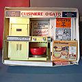 Meccano-Triang, la cuisinière O'Gato des années 70... Un jouet made in France mais sous licence Kenner, une marque des USA !