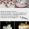 Atelier pâte à sucre sur lyon - thème noel