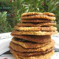 Biscuits flocons d'avoine et chocolat