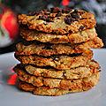 Biscuits Pomme, <b>Avoine</b> & Amandes Effilées