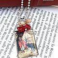 Défi février livres et écrivains: collier le <b>petit</b> <b>chaperon</b> <b>rouge</b>