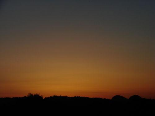 2008 08 05 Un zoom sur le coucher de soleil
