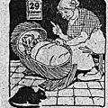 le grève des cheminots - les morts au champ d'honneur (Sénat) - Sermon de Charité à Nevers - <b>29</b> <b>février</b>.