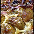 {recette} tarte aux prunes