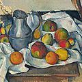 <b>Paul</b> <b>Cézanne</b> (1839-1906), Bouilloire et fruits, 1888-1890
