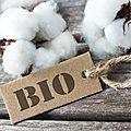 Le coton <b>biologique</b>