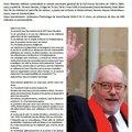 Tribune FO : hommage à Marc Blondel