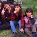 Las niñas de la Sagrada Familia