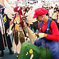 Mario double les personnages de Fairy Tail