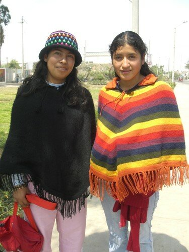 Musée Ica, jeunes péruviennes