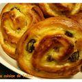 Petits pains aux raisins du dimanche matin