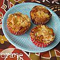 Muffins maroilles et mirabelles