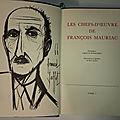 A VENDRE - Collection complète de l'oeuvre de François MAURIAC