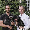 Un éleveur et un chef relancent la poule de Houdan, trésor culinaire des Yvelines