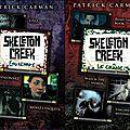 Skeleton creek (tomes 1 à 4 : psychose - engrenages - le crâne - le corbeau) ---- patrick carman