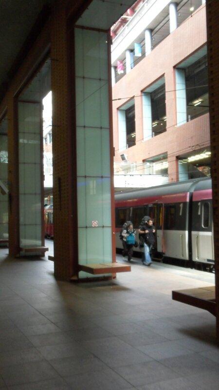 Anvers Central : gare souterraine