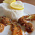 Filet de limande mijoté dans ses boulettes Kefta7