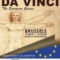 Bruxelles : déjà plus de 10000 visiteurs à l'exposition des œuvres de leonardo da vinci