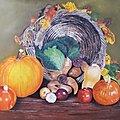 Tous les légumes.... Pastelmat 50x70 cm