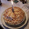 Gâteau chocolat à la mousse de poires