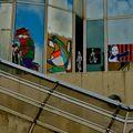 Urban art au Forum des Halles .