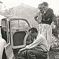 Jules Mougin, Jeanne et Serge.