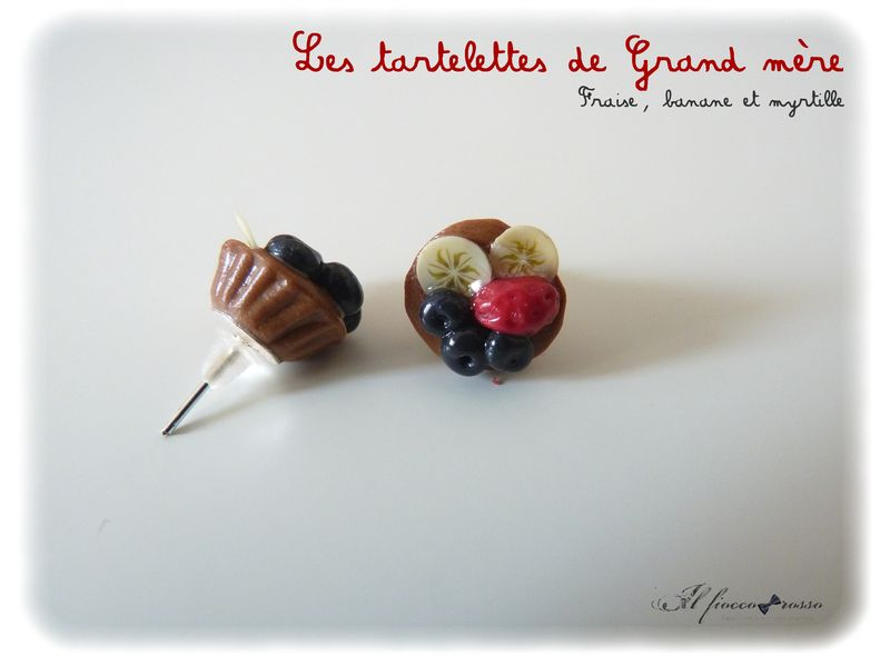 Boucles fruits divers