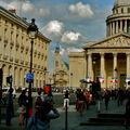 Le Panthéon depuis la rue Soufflot.