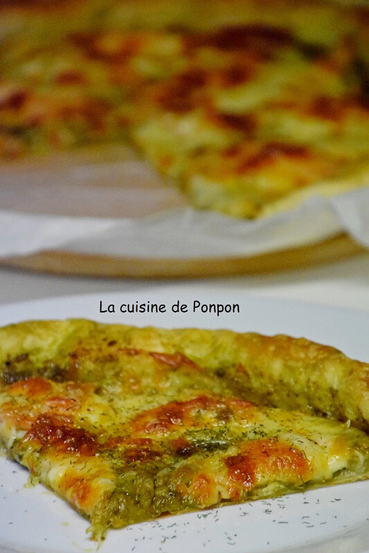 tarte pesto saumon et mozza (15)