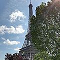 Mes vacances à <b>Paris</b>