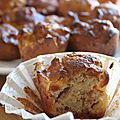 Muffins pomme noisettes