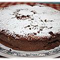 Cheesecake au chocolat sans pâte