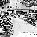 Le grand garage des Chaprais L. Thieulin...