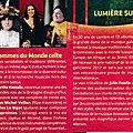 Femmes du monde celte au Festival interceltique de <b>Lorient</b> le 9 août 2018